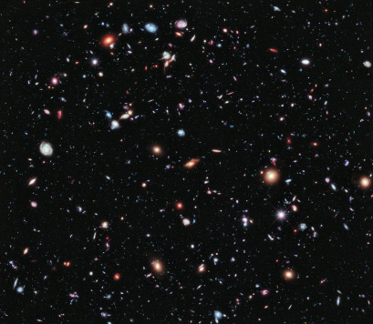 A new, improved portrait of Hubble's deepest-ever view of the universe, called the eXtreme Deep Field, or XDF, in the constellation Fornax